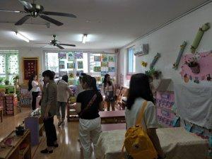 2019空军蓝天幼儿园园所观摩